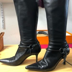 GUCCI WOMANS HORSEBIT BOOTS MINT $350